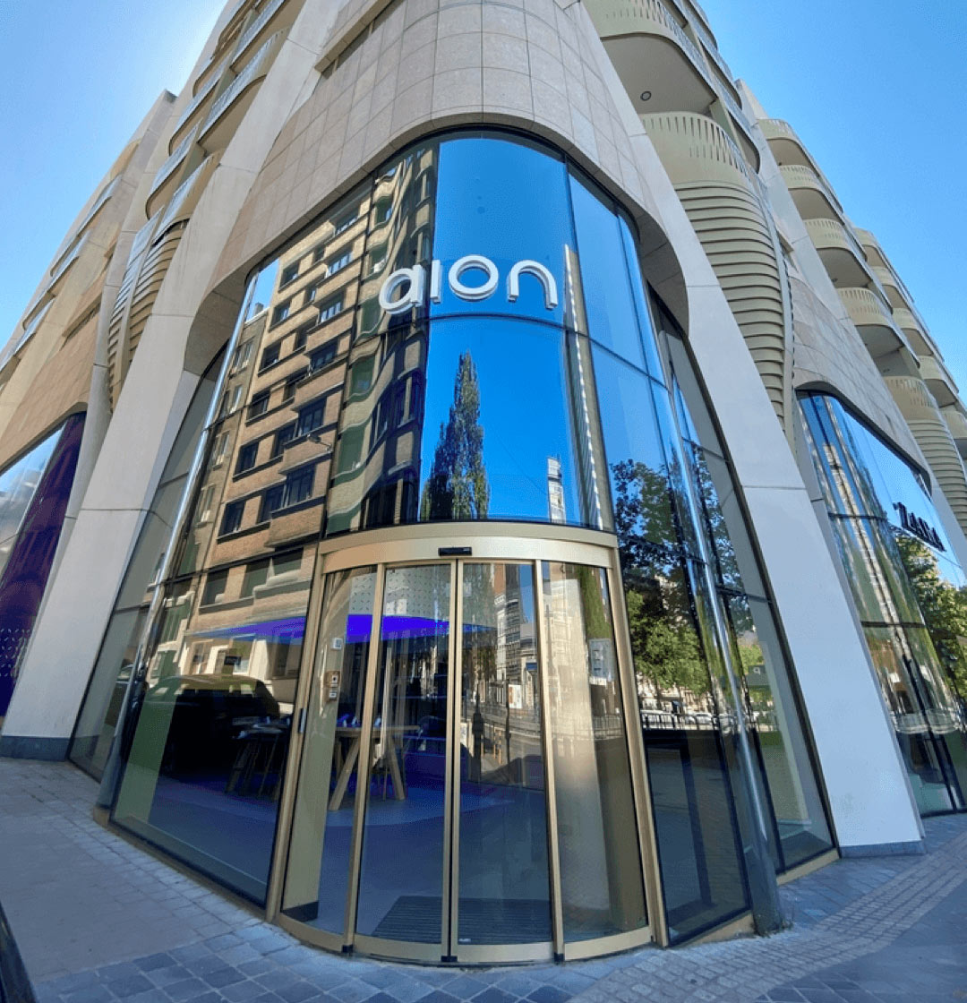 Aion flagship branch and administrative offices in Brussels